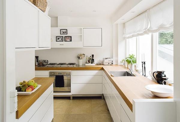 bijela kuhinja ciscenje
