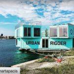 Plutajuća naselja za smještaj studenata u Danskoj