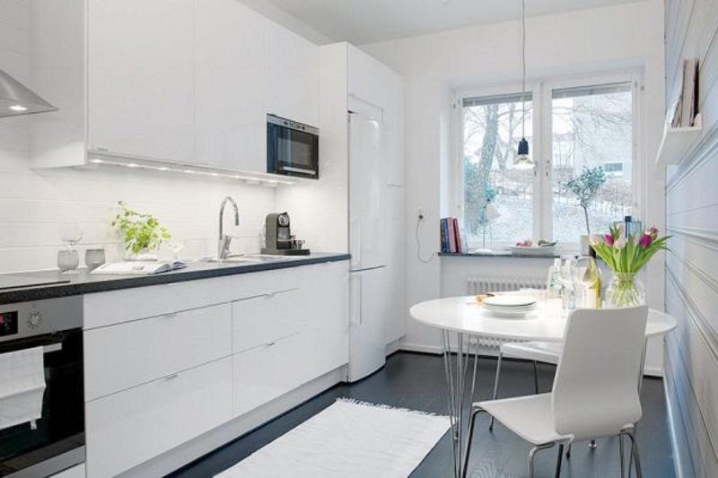 kuhinja bijela ciscenje