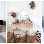 19 jednostavnih stolova za šminkanje zbog kojih ćete i vi poželjeti jedan