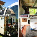 Ambulantna kola pretvorio u dom na točkovima