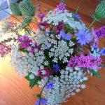 Predivni buketi od poljskog cvijeća
