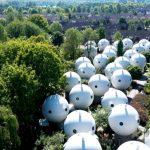 Futuristički eksperiment iz 1984: Zavirite u naselje kuća u obliku kugle