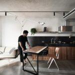 Moderna verzija stola na izvlačenje je genijalna i idealna za manje kuhinje