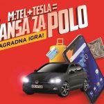 Nagradna igra sa savršenom jednačinom: m:tel+Tesla = šansa za Polo