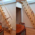 Ove sklopive stepenice su spas za mali prostor