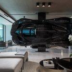 Ekstravagantno: Luksuzni automobil umjesto pregradnog zida
