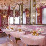 Da li je ovo najraskošniji toalet ikad? Umivaonici od roza oniksa i svilene tapete