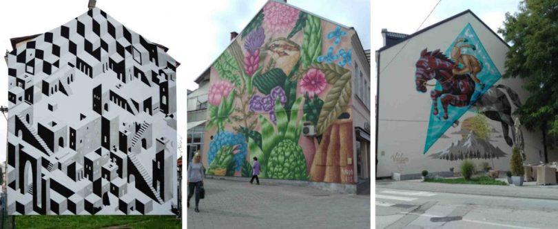 Prijedorski murali uljepšavaju grad – DOM INFO |