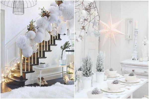 dekoracije bijele