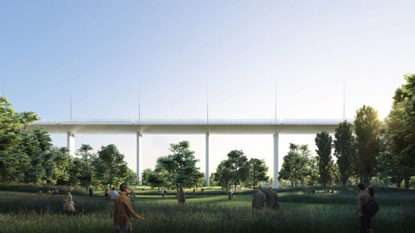 novi most u djenovi