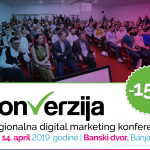 "Ogroman interes za regionalnu digital marketing konferenciju ""Konverzija"""