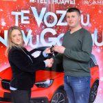 Uručen automobil dobitniku m:tel i Huawei nagradne igre