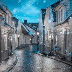 Gradić u kojem zimske čarolije ne nedostaje
