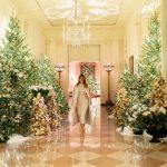 Duh Amerike: Melanija okitila Bijelu kuću za Božić, ukrase dizajnirala sama
