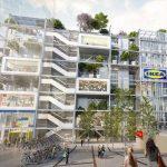 Nova IKEA prodavnica u Beču uključuje ekološki krov i nema parking