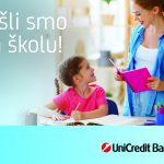 10% popusta za spremanje školaraca uz Mastercard kartice UniCredit Bank Banja Luka