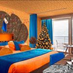 Hotel na Alpama nudi sobu s motivima narandže i čokolade, da li biste prespavali ovdje?