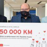 Vrijedna donacija m:tel-a Klinici za dječije bolesti