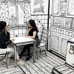 Ovaj kafić u Moskvi izgleda kao 2D strip