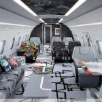 Zavirite u najljepši privatni avion