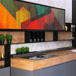Kuhinja koja briše granice između dnevnog boravka, trpezarije i kuhinje